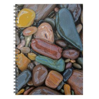 USA, Montana, Clark Fork River, Stones Note Books