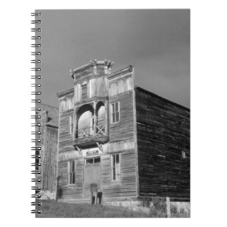 USA, Montana, Elkhorn Fraternity Hall meeting Spiral Note Book