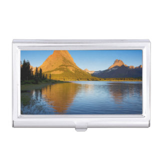 USA, Montana, Glacier National Park 2 Business Card Holder