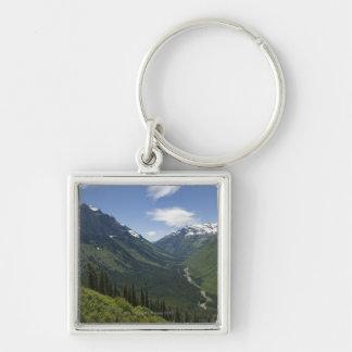 USA, Montana, Glacier National Park, scenic Key Ring