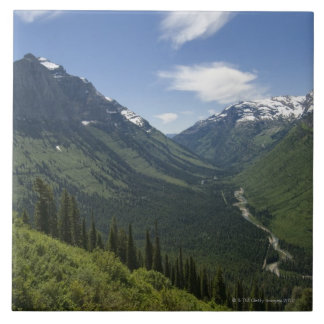 USA, Montana, Glacier National Park, scenic Tile