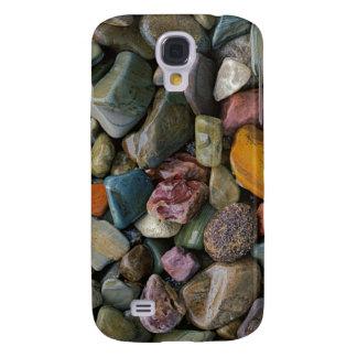 USA, Montana, Glacier National Park, Stones Galaxy S4 Case