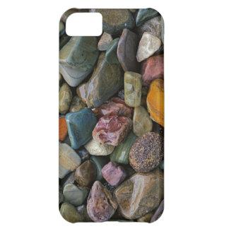 USA, Montana, Glacier National Park, Stones iPhone 5C Case