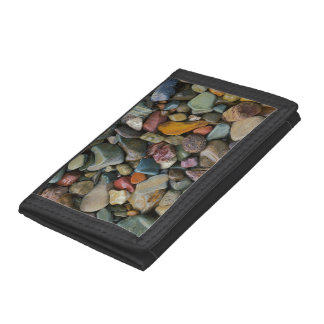 USA, Montana, Glacier National Park, Stones Trifold Wallets