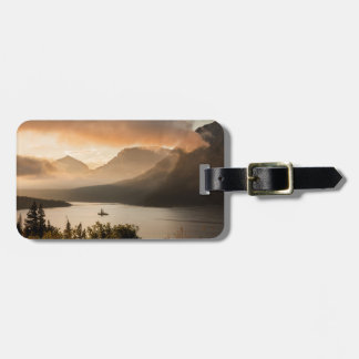 USA, Montana, Glacier National Park. Sunrise Luggage Tag