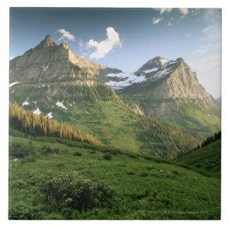 USA, Montana, Glacier National Park Tile