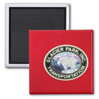 USA, Montana, Glacier National Park, Vintage 2 Magnet