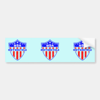 USA Motorcycle Bumper Stickers
