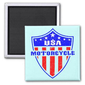 USA Motorcycle Fridge Magnets