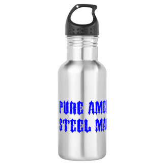 USA Motorcycle Steel Machine 532 Ml Water Bottle