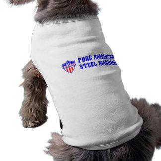 USA Motorcycle Steel Machine Sleeveless Dog Shirt