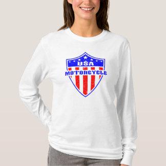 USA Motorcycle T-Shirt