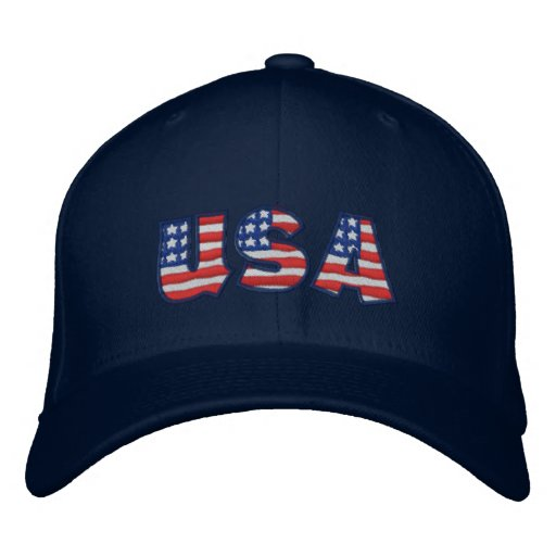 USA NB EMBROIDERED CAP