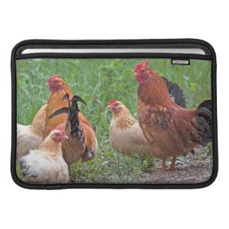 USA, Nebraska. Chickens Sleeve For MacBook Air