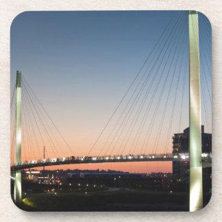 USA, Nebraska, Omaha, Bob Kerrey Pedestrian Coaster
