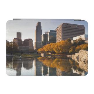 USA, Nebraska, Omaha, Gene Leahy Mall, Skyline iPad Mini Cover