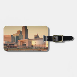 USA, Nebraska, Omaha, Skyline Luggage Tag