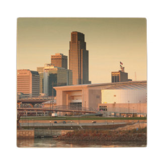 USA, Nebraska, Omaha, Skyline Maple Wood Coaster