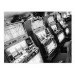 USA, Nevada, Las Vegas: Casino Slot Machines / Postcards