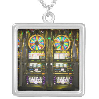 USA, Nevada, Las Vegas. McCarran International Silver Plated Necklace