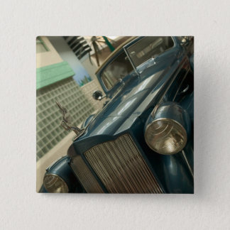 USA, Nevada_Reno: National Automobile Museum 15 Cm Square Badge