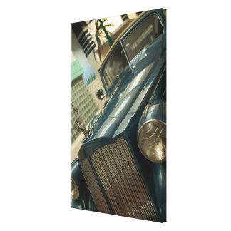 USA, Nevada_Reno: National Automobile Museum 2 Canvas Print
