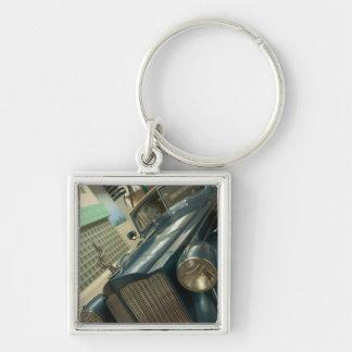 USA, Nevada_Reno: National Automobile Museum Key Ring