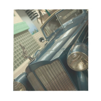 USA, Nevada_Reno: National Automobile Museum Notepad