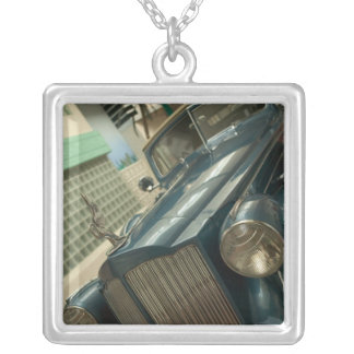USA, Nevada_Reno: National Automobile Museum Silver Plated Necklace