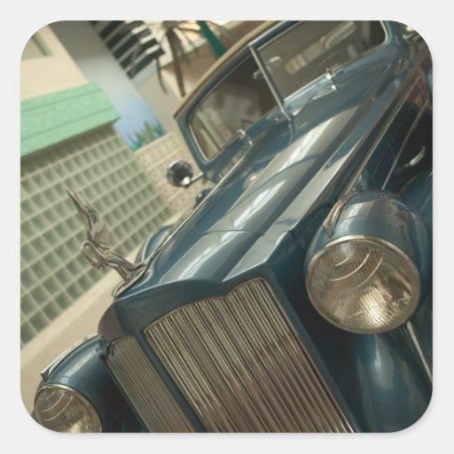 USA, Nevada_Reno: National Automobile Museum Square Sticker