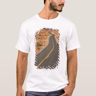 USA, Nevada, Valley of Fire, desert road T-Shirt