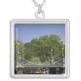 USA, New England, Massachusetts, Boston, 2 Silver Plated Necklace