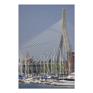 USA, New England, Massachusetts, Boston, boats Photo Print
