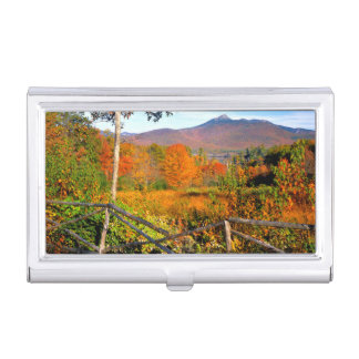 USA, New England, New Hampshire, Chocorua Business Card Holder
