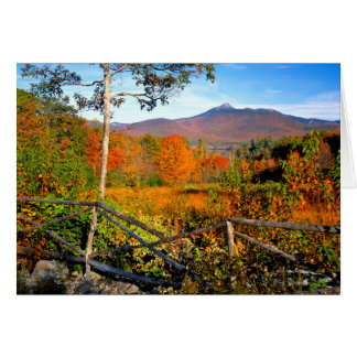 USA, New England, New Hampshire, Chocorua Greeting Cards