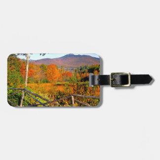 USA, New England, New Hampshire, Chocorua Luggage Tag