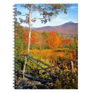 USA, New England, New Hampshire, Chocorua Spiral Notebooks