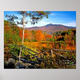 USA, New England, New Hampshire, Chocorua Poster
