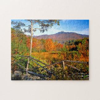 USA, New England, New Hampshire, Chocorua Puzzle