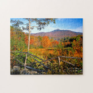USA, New England, New Hampshire, Chocorua Puzzles