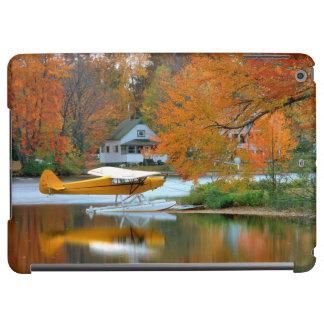 USA, New England, New Hampshire. Float Plane