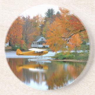 USA, New England, New Hampshire. Float Plane Coaster