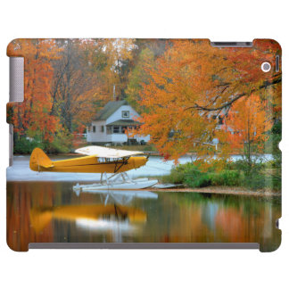 USA, New England, New Hampshire. Float Plane iPad Case