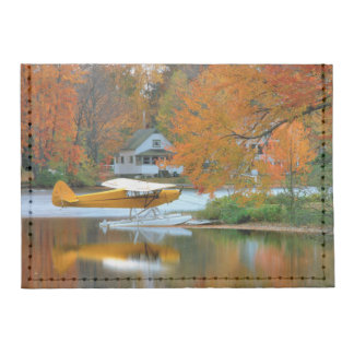 USA, New England, New Hampshire. Float Plane Tyvek® Card Case Wallet