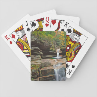 USA, New England, New Hampshire, White Mountains Playing Cards