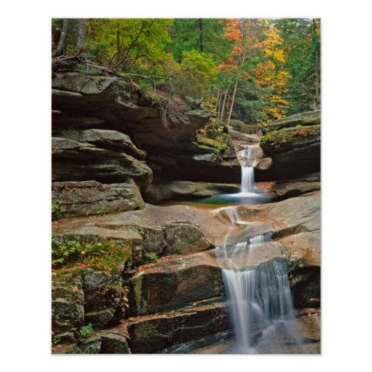USA, New England, New Hampshire, White Mountains Poster