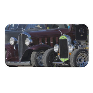USA New Hampshire Epping Antique cars lined Blackberry Case