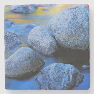 USA, New Hampshire, White Mountain National Stone Coaster