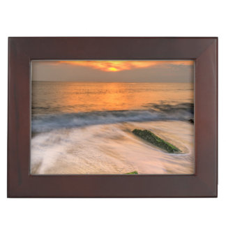 USA, New Jersey, Cape May. Scenic On Cape May 2 Keepsake Box