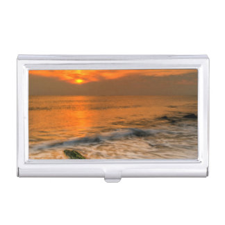 USA, New Jersey, Cape May. Scenic On Cape May 4 Business Card Holder